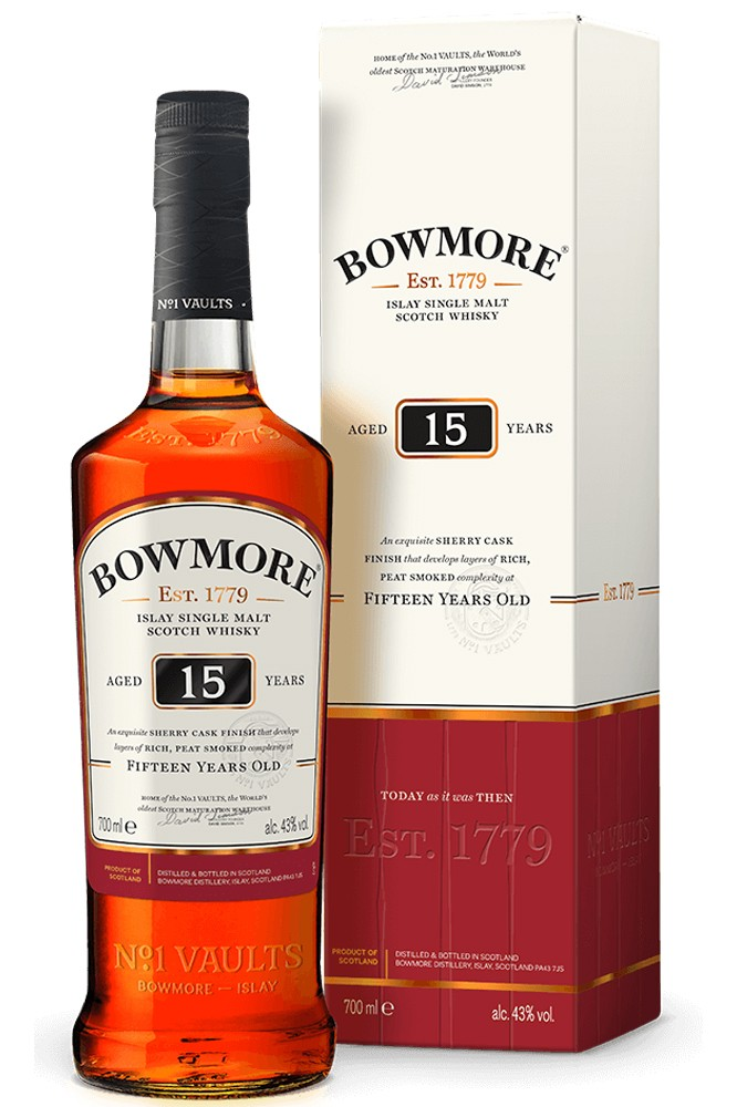 Bowmore 15 Jahre Single Malt Whisky