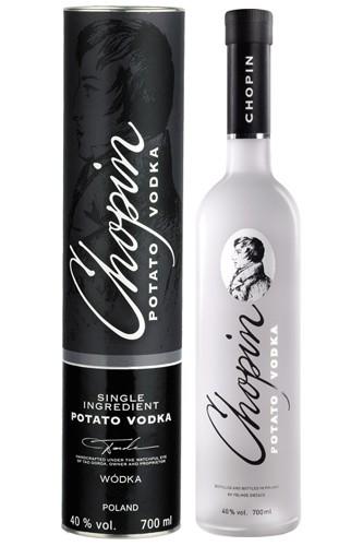 Chopin Black Potato 0,7 l + Tube Vodka