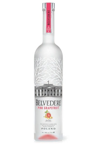 Belvedere Pink Grapefruit Vodka - 0,7 Liter