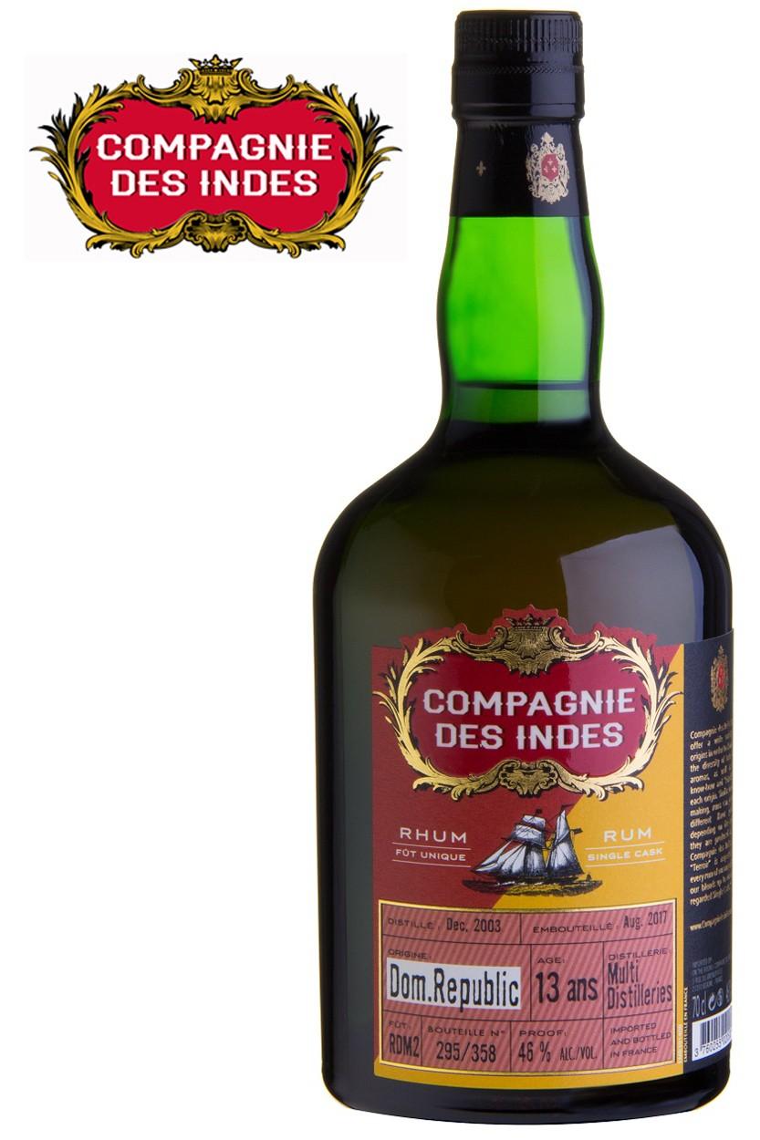 Compagnie des Indes Dominican Republic 13 Jahre Rum