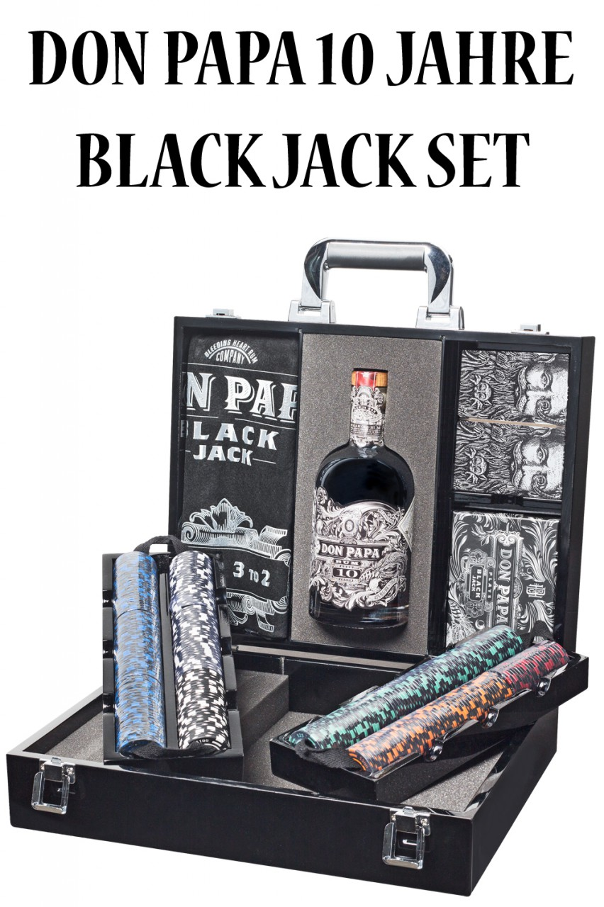 Don Papa 10 Black Jack Koffer