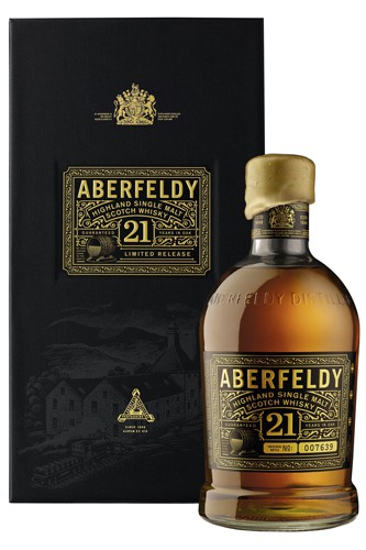 Aberfeldy 21 Jahre SIngle Malt Whisky