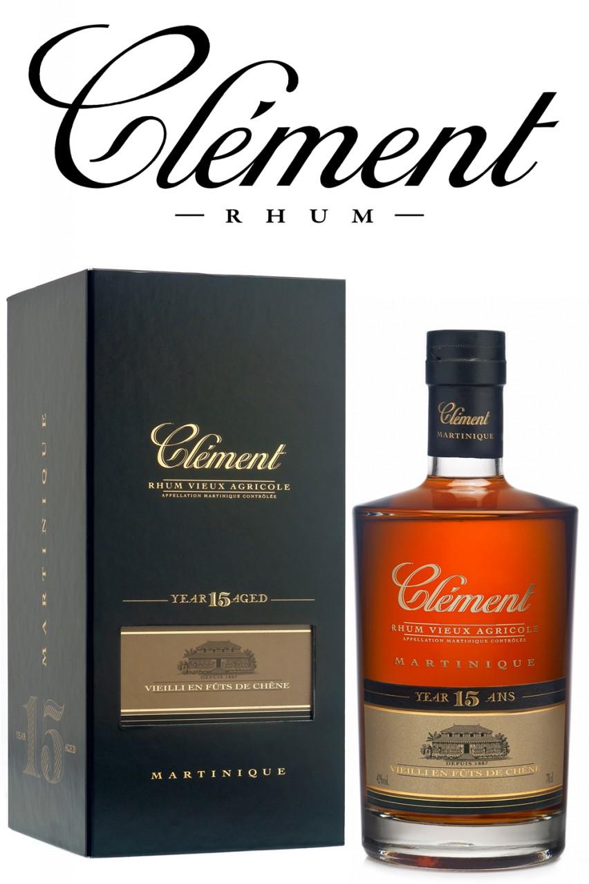 Clement 15 Jahre Rum