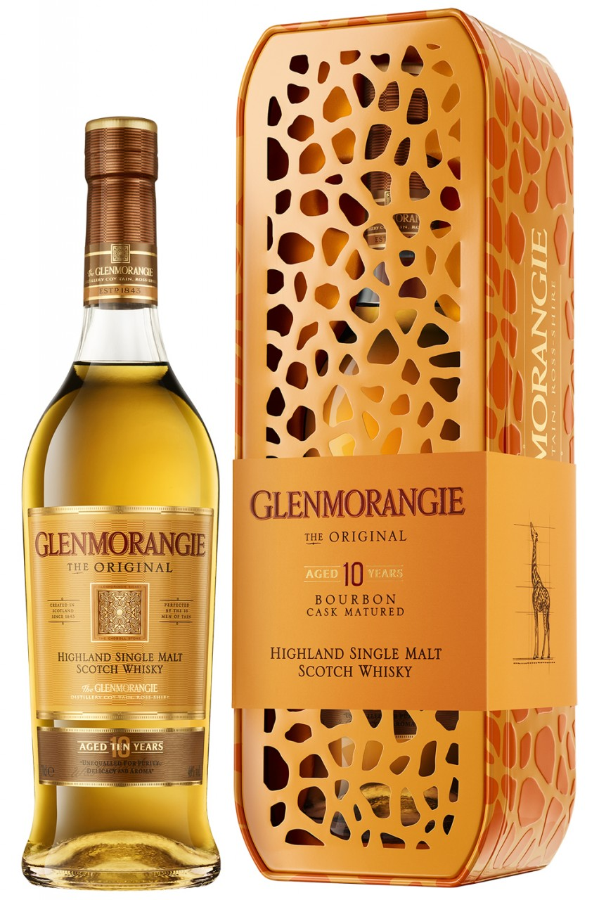 Glenmorangie 10 Jahre - Giraffe Box