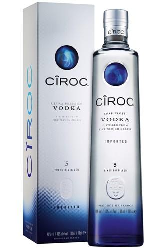 Ciroc Vodka in Geschenkbox