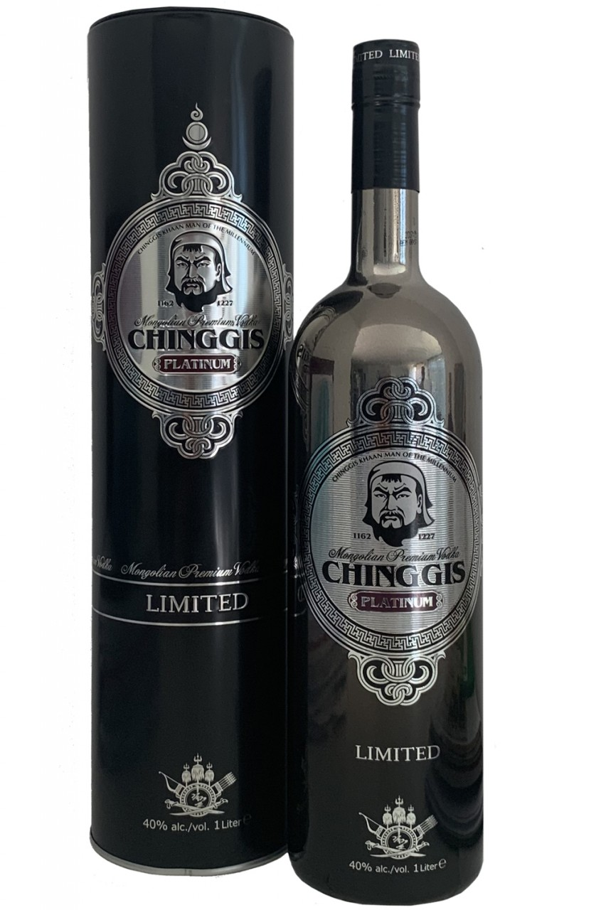 Chinggis Platinum Vodka - Limited Edition
