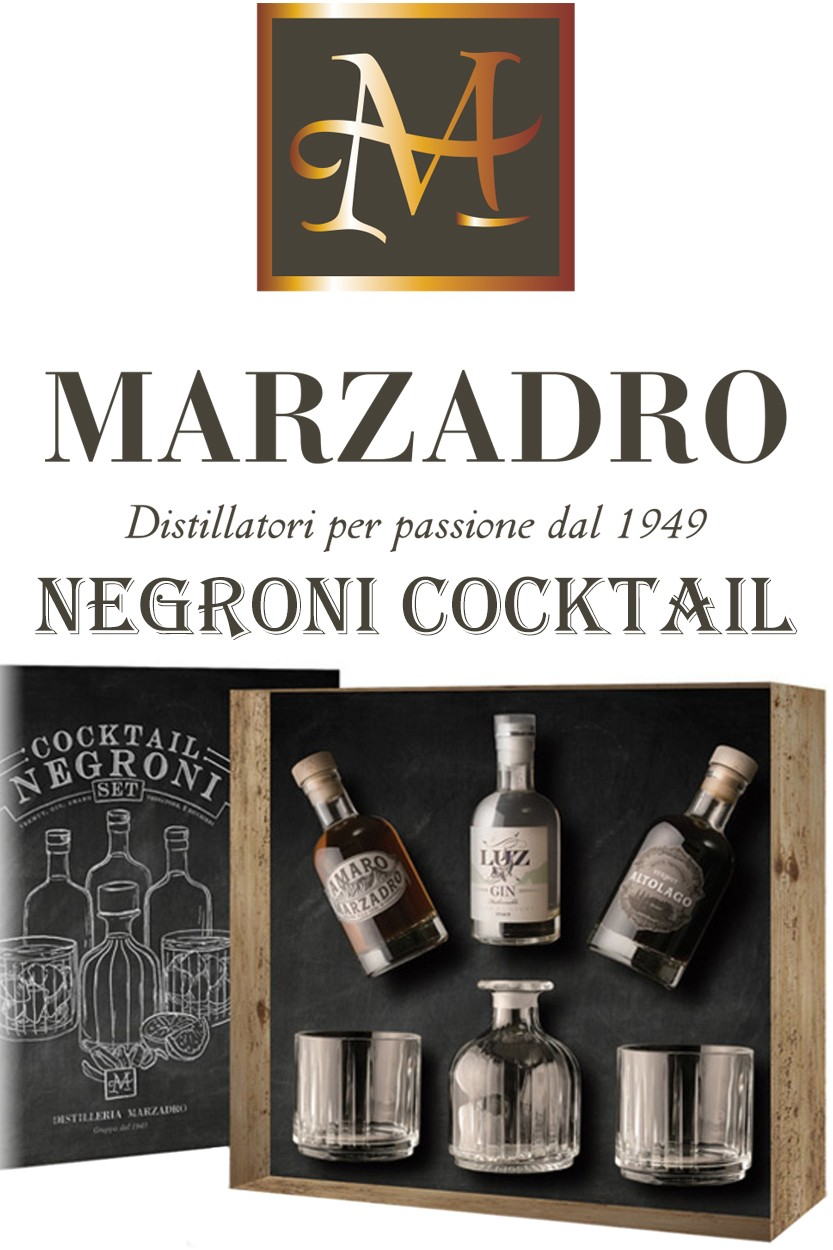 Marzadro Negroni Cocktail Set