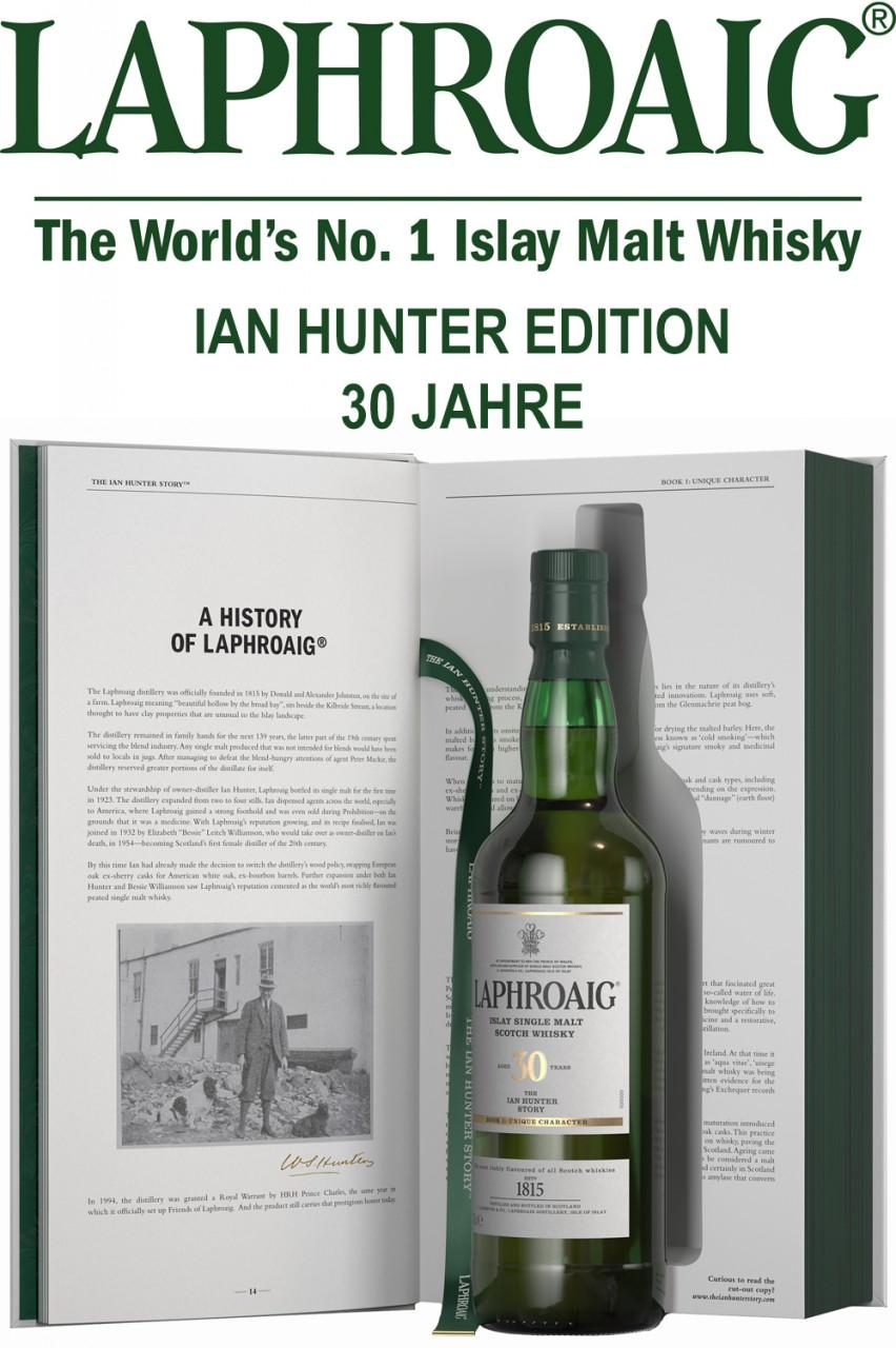 Laphroaig Ian Hunter - 30 Jahre