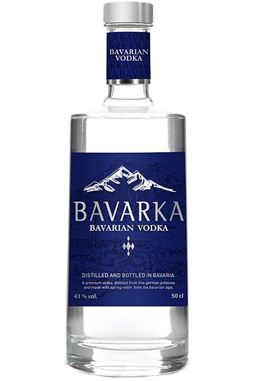 Bavarka Vodka - Neues Design