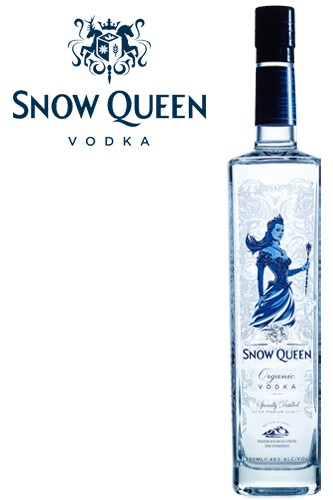Snow Queen Vodka - New Design