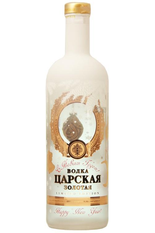 Zarskaja Gold - Limited Edition 1 Liter Vodka