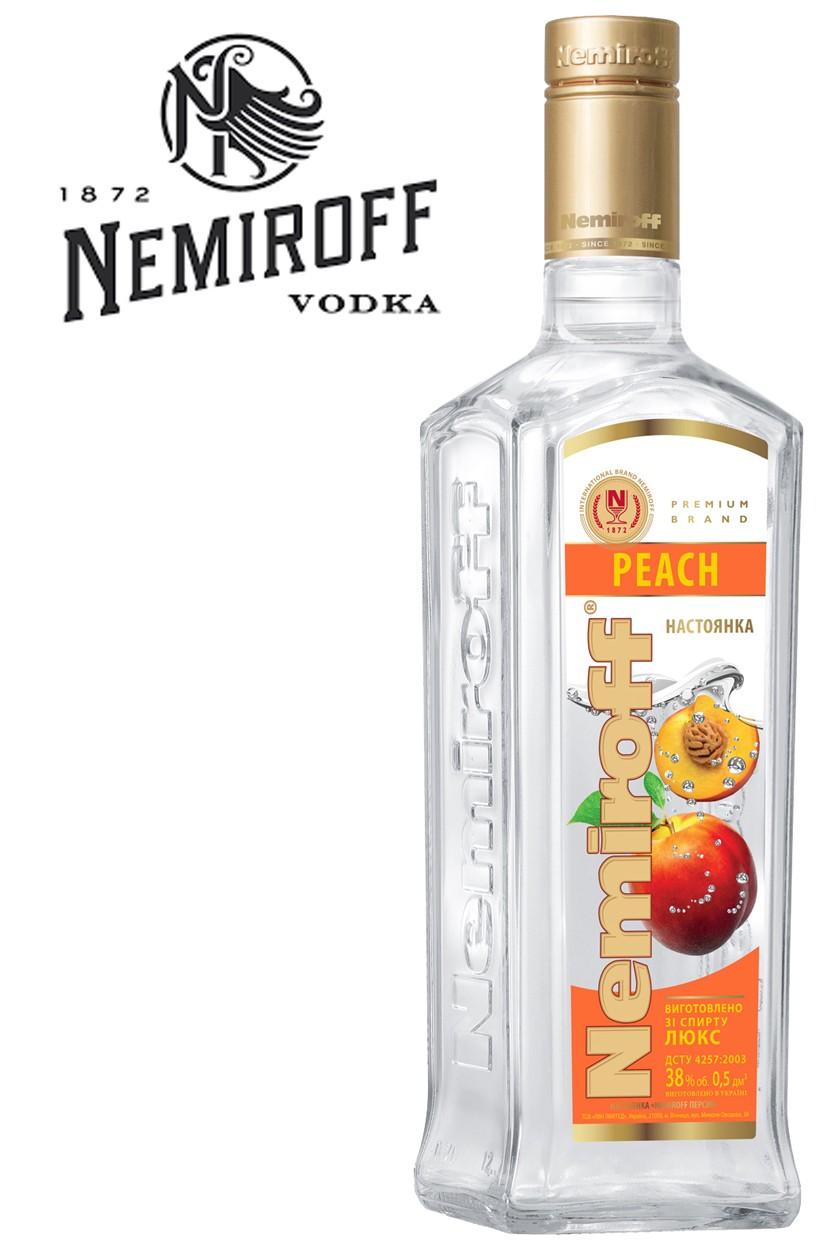 Nemiroff Peach / Pfirsich Vodka