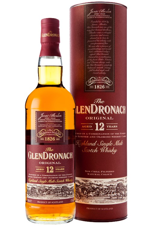 Glendronach 12 Jahre Single Malt Whisky