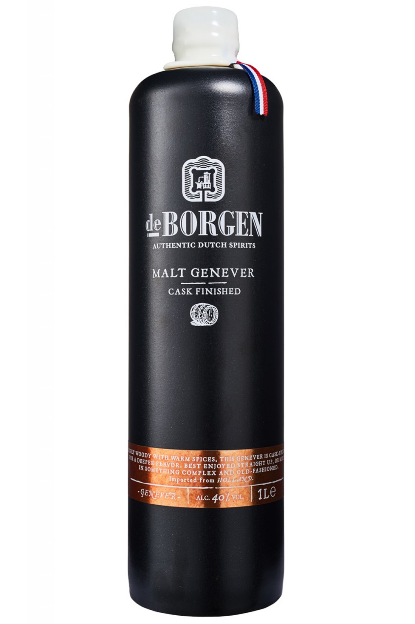 De Borgen Malt Cask Finished Genever