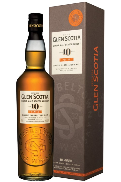 Glen Scotia 10 Jahre - Peated