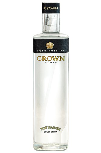 Gold Russia Crown Vodka
