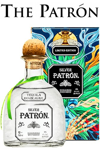 Patron Silver Tequila - Limited Edition