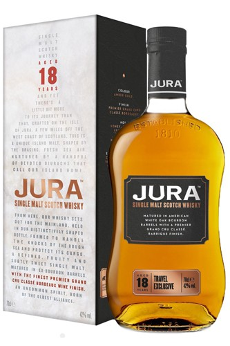 Isle of Jura 18 Jahre - Bordeaux Finish