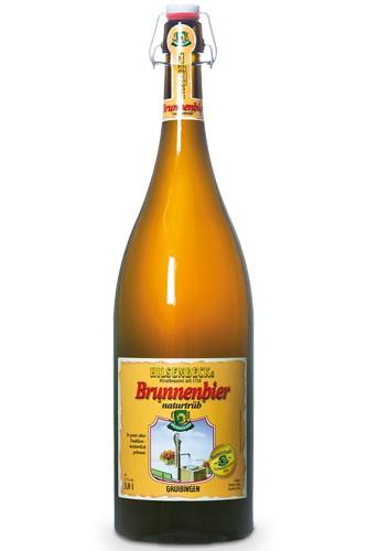 Hilsenbeck Naturtrüb Brunnenbier 3 Liter Flasche