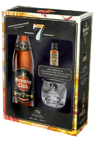 Havana Club 7 Jahre Set Essence