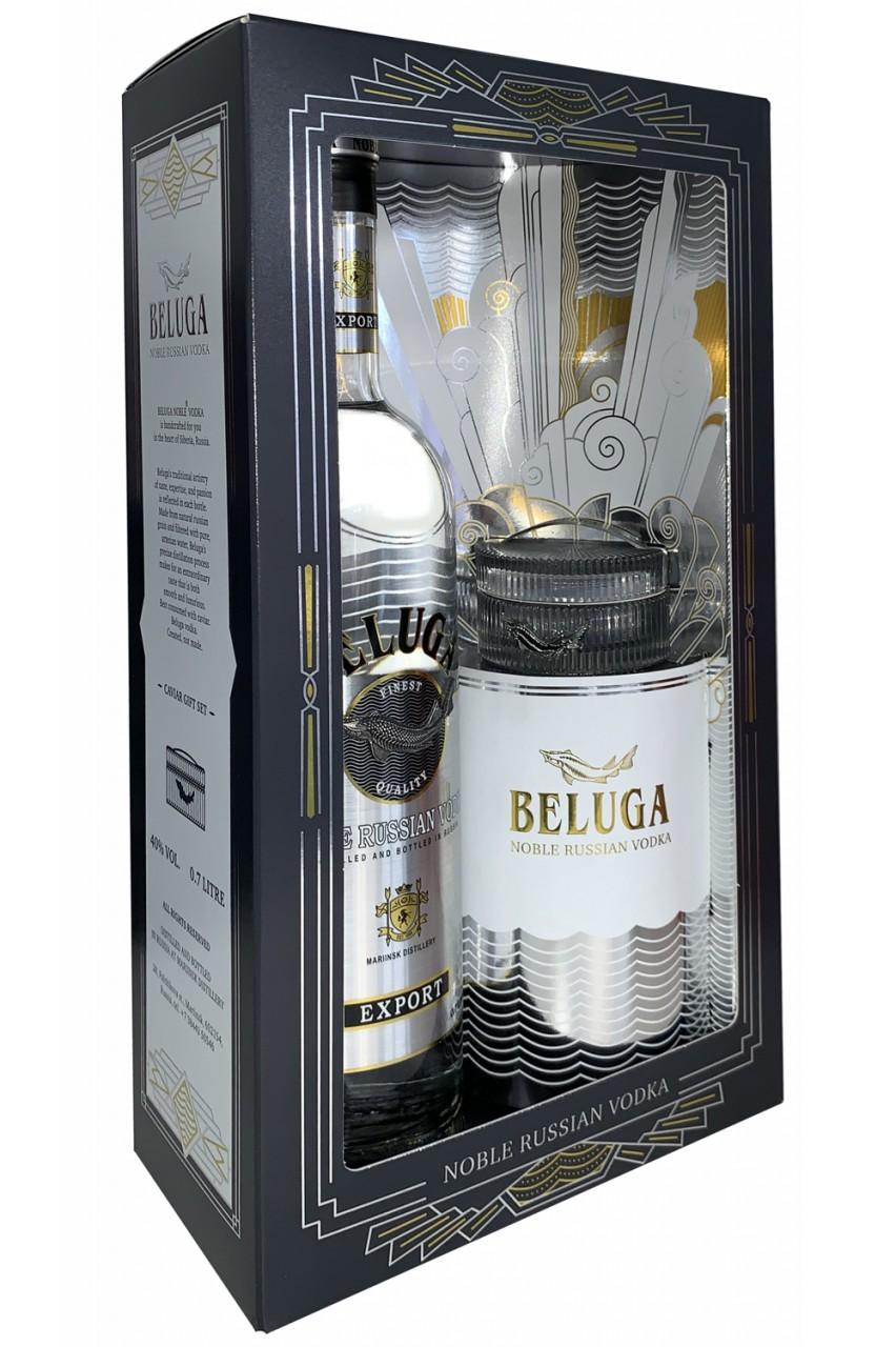 Beluga Noble Vodka Kaviar Geschenkset