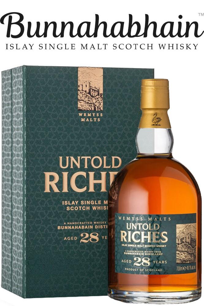 Wemyss Malt - Untold Riches 28 Jahre - Bunnahabhain