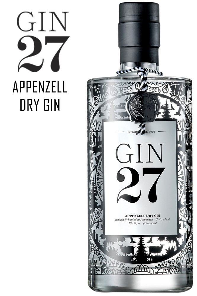 Appenzell Dry Gin 27