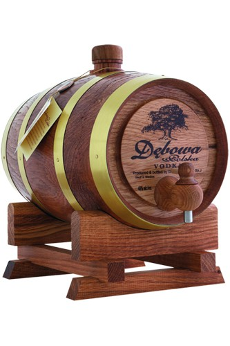 Debowa Wodka Holzfass 1 Liter