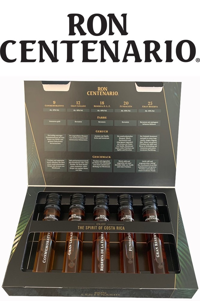 Ron Centenario Rum - Tasting Set