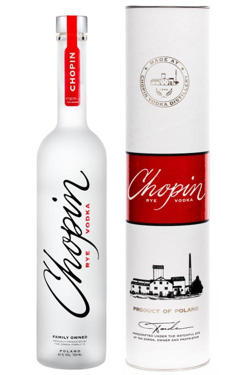 Chopin Rye Vodka - 0,7 Liter in Tube
