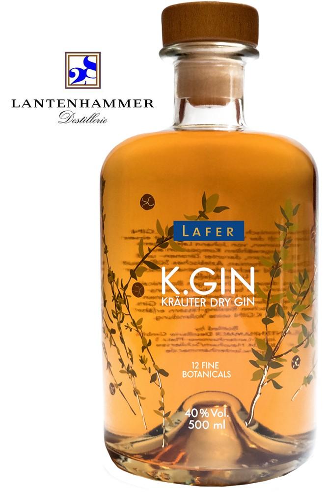 K.Gin - Kräuter Dry Gin - Johann Lafer Edition