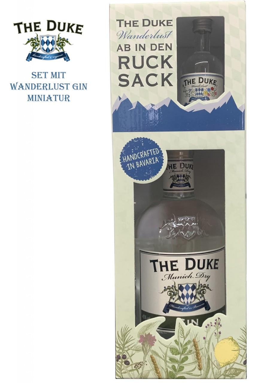 The Duke Gin & Duke Wanderlust Gin Miniatur