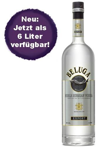 Beluga Noble Vodka - 6 Liter