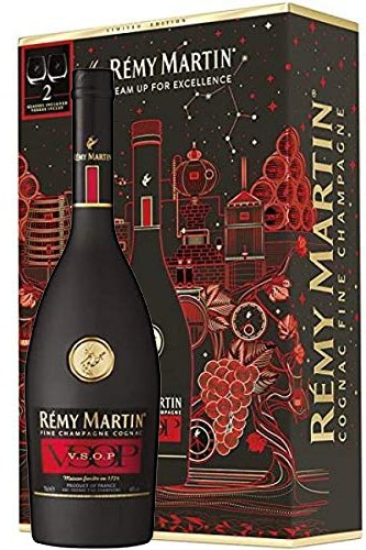 Remy-Martin-VSOP-Cognac-Frosted-Bottle Geschenkbox