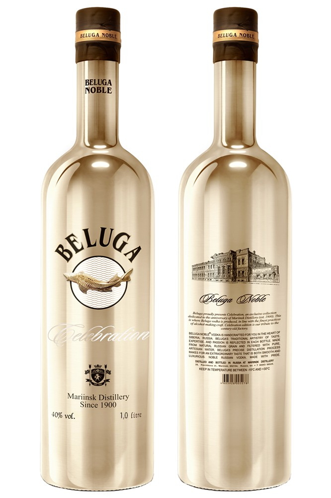Beluga Celebration Vodka 1 Liter