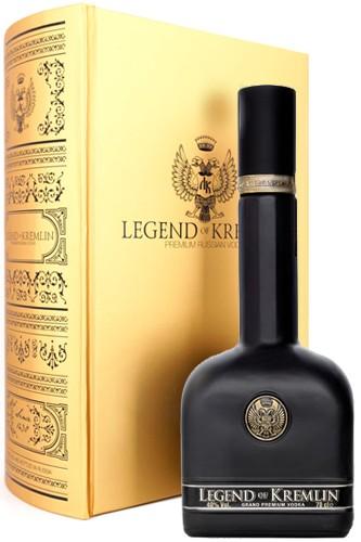 Legend of Kremlin de Luxe Black in goldener Bibel