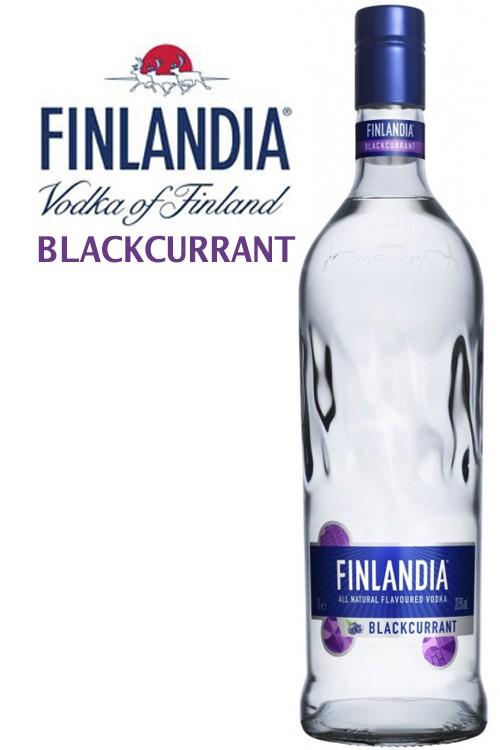 Finlandia Blackcurrant Vodka - New Design