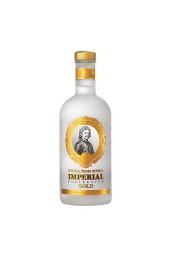 Zarskaja Imperial Gold Miniatur Vodka