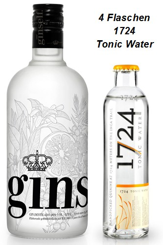 Ginself Gin & 1724 Tonic Water Set