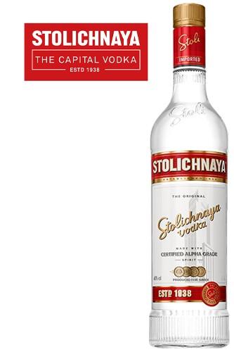 Stolichnaya Vodka 1 Liter